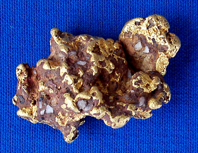 Photo Specimen Gold Nugget 281
