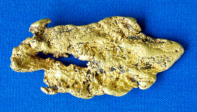 Photo Collectable Gold Nugget 1574