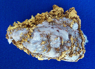 Photo Specimen Gold Nugget 2626