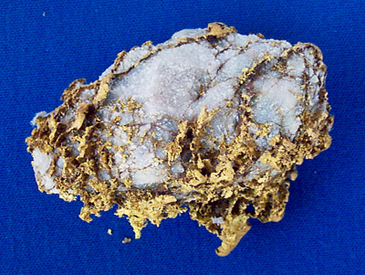 Photo Specimen Gold Nugget 2629