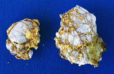 Photo Specimen Gold Nugget 2637