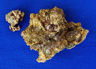 Photo Specimen Gold Nugget 2643