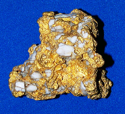 Photo Specimen Gold Nugget 2909